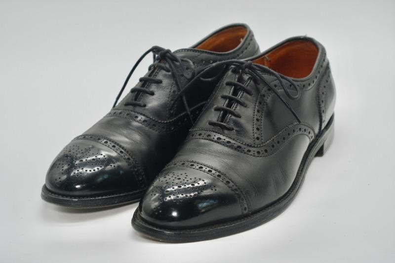 【革靴紹介】Alden909 review:オールデンだってセミブローグがあるんだよ。