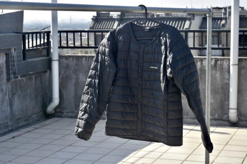 【アウトドア】mont-bell スペリオダウン ラウンドネックジャケット Review:コートやジャケットの下に着れるダウン。冬のマストアイテム。
