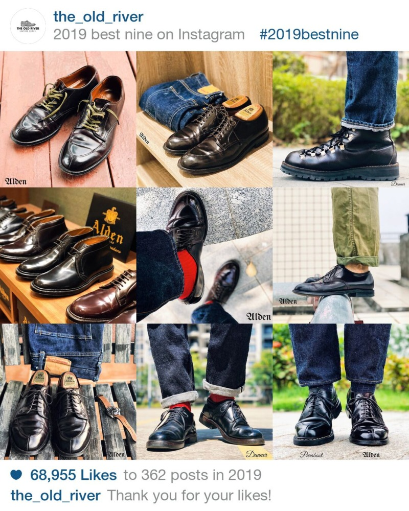 【革靴】今年のInstagram、ベスト9をしてみよう。ベスト9のやり方も解説。