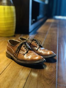 【革靴エイジングレポート】1年経過したトリッカーズウッドストック。経年変化と履き心地の変化を見る。