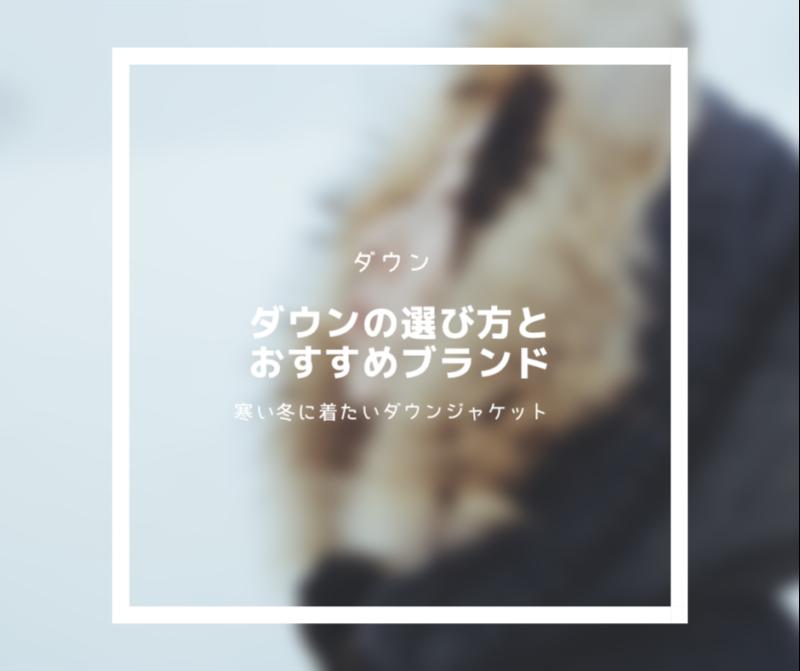 【おすすめダウン5選】元アウトドアショップ店員が語るダウンジャケットの選び方。